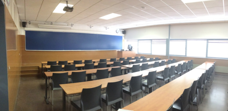 Theory lecture room